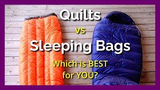 Sleeping Bag vs QUÏLT | BEST Backpacking Sleep System