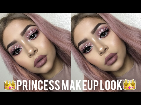 Princess Crown Makeup Tutorial | Daisy Marquez