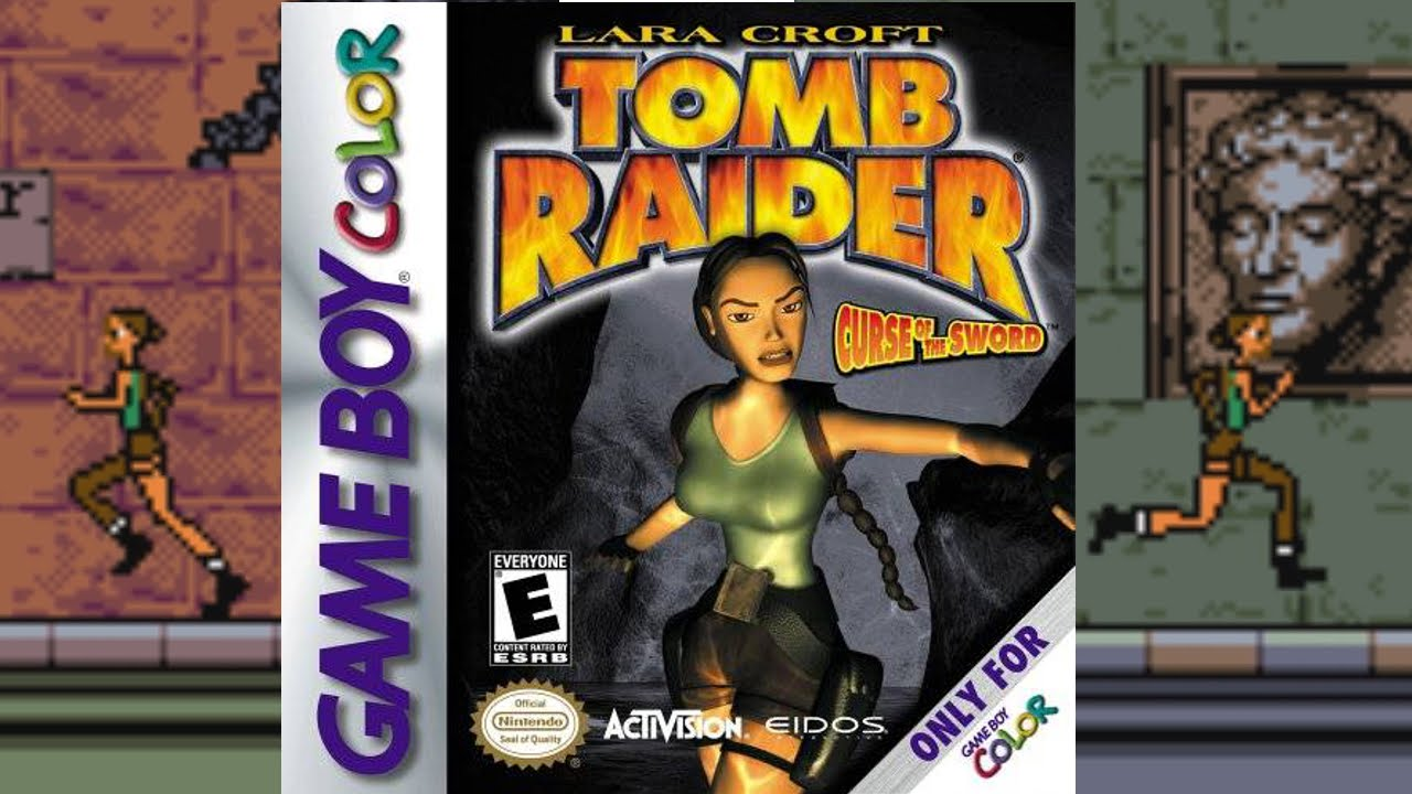 Tomb Raider: Curse of the Sword | Game Boy Color | Core Design | 2001 - YouTube