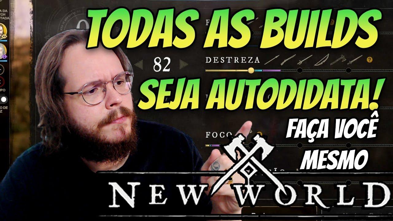 NEW WORLD - APRENDA A FAZER TODAS AS BUILDS EM UM SÓ VÍDEO!! ⚔️🛡️ PT-BR