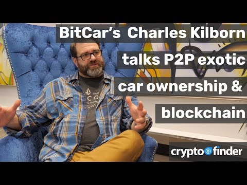 BitCar is all about P2P ownership of exotic cars through blockchain, Charles Kilborn explains how. 🚗