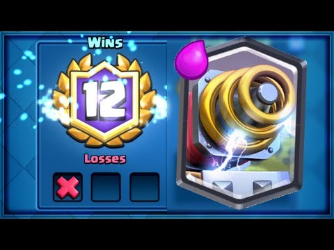 Clash Royale - MY FIRST 12 WIN SPARKY RUN!