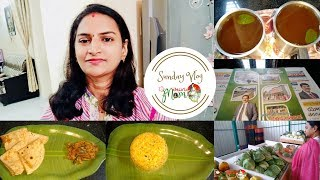 Indian Mom Sunday Morning to Night Routine Vlog || Mushroom Masala Curry  || Bay leaf Masala Tea
