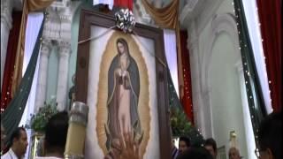 Virgen de Guadalupe en Tala Jalisco Mexico pintada por Rodolfo Gonzalez