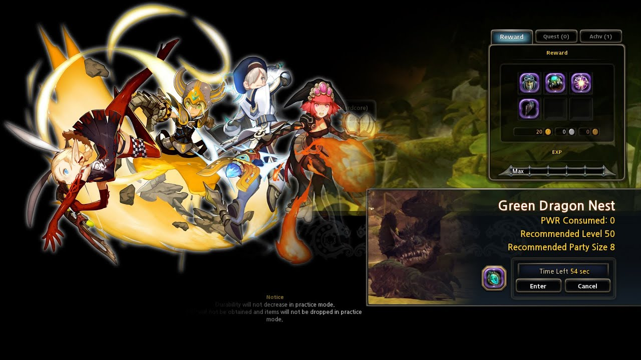dragon nest na raid destroyer pov green dragon nest