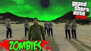 GTA 5 PC Mods - ZOMBIES MOD BETA GAMEPLAY! (GTA 5 Zombie Mod)