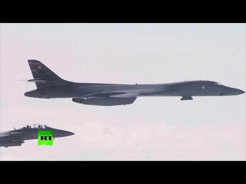 US bombers fly over S. Korea in 'direct response' to Pyongyang missile test