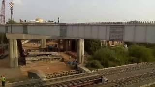 Steel Girder Launching Jodhpur RoB Project