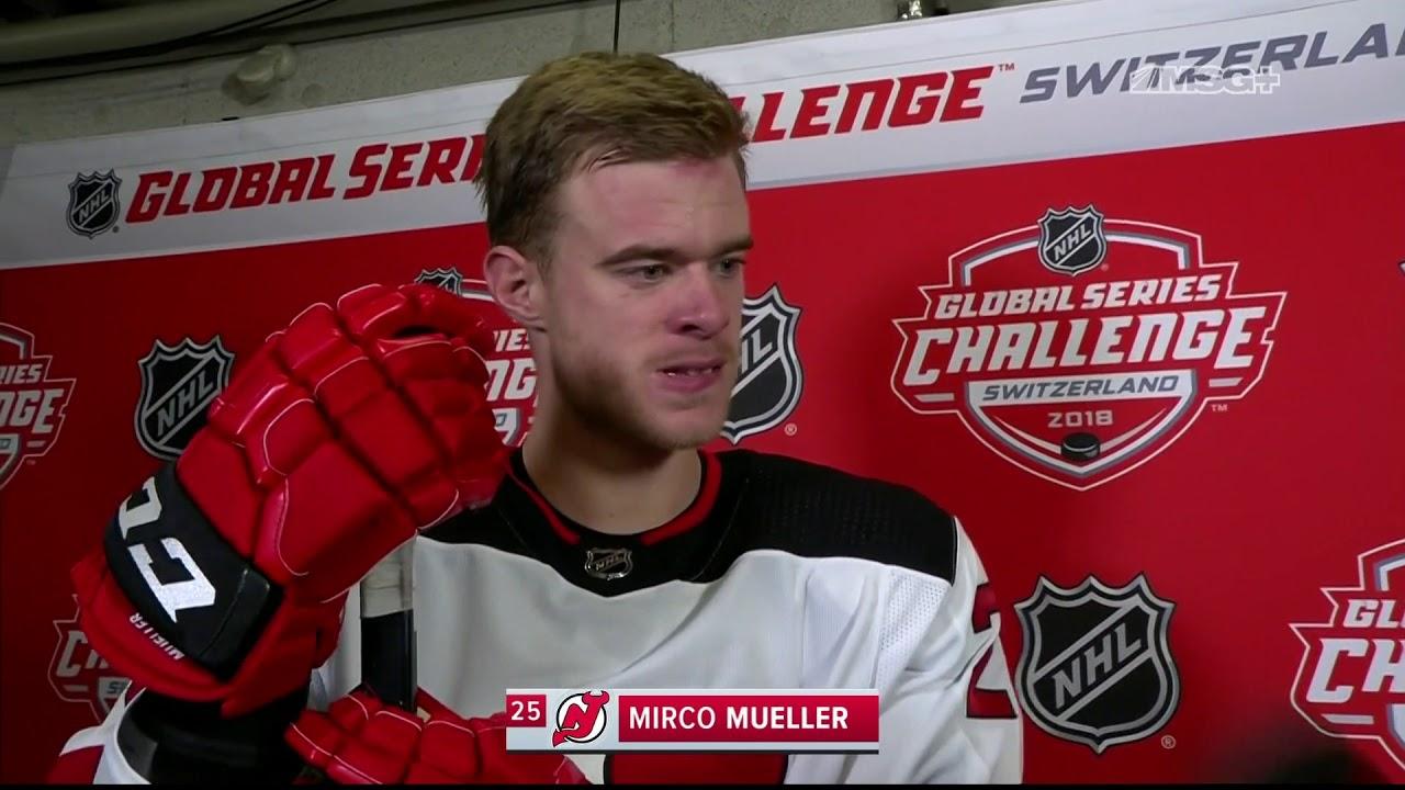 official photos 5a388 873de Mirco Mueller Reflects on Return to Switzerland | New Jersey Devils