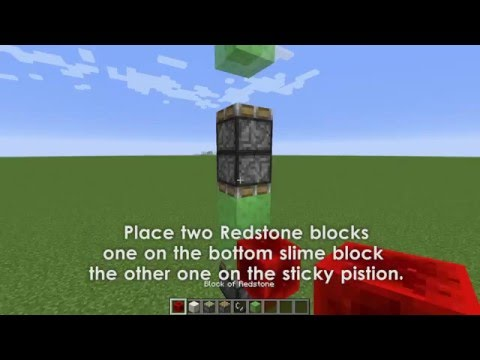 How to make a redstone Rocket Ship in Minecraft (No Mods or Command Blocks)