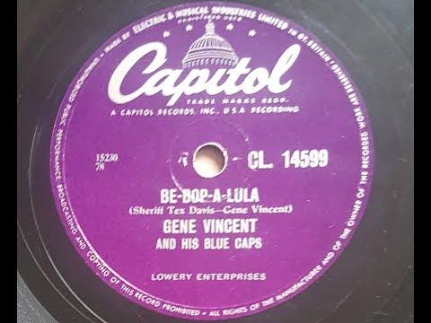 Gene Vincent 'Be-Bop-A-Lula' 1956 78 Rpm