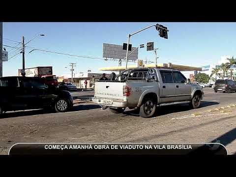 JMD (21/05/18) - Obras Para Construção De Viaduto Na Avenida São Paulo