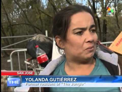 The Real USA - Homeless evictions in San Jose, California