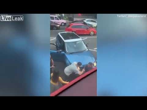 The Bushman Show -  Road Rage Drama