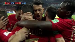 Ч Мира 2018 год Португалия Испания 1 0 Криштиану Роналду пен