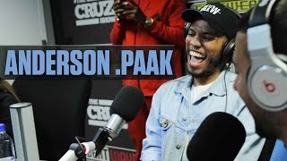 Anderson Paak On Writing On The Spot For Dr. Dre + Gives Exclusive Unreleased Verse