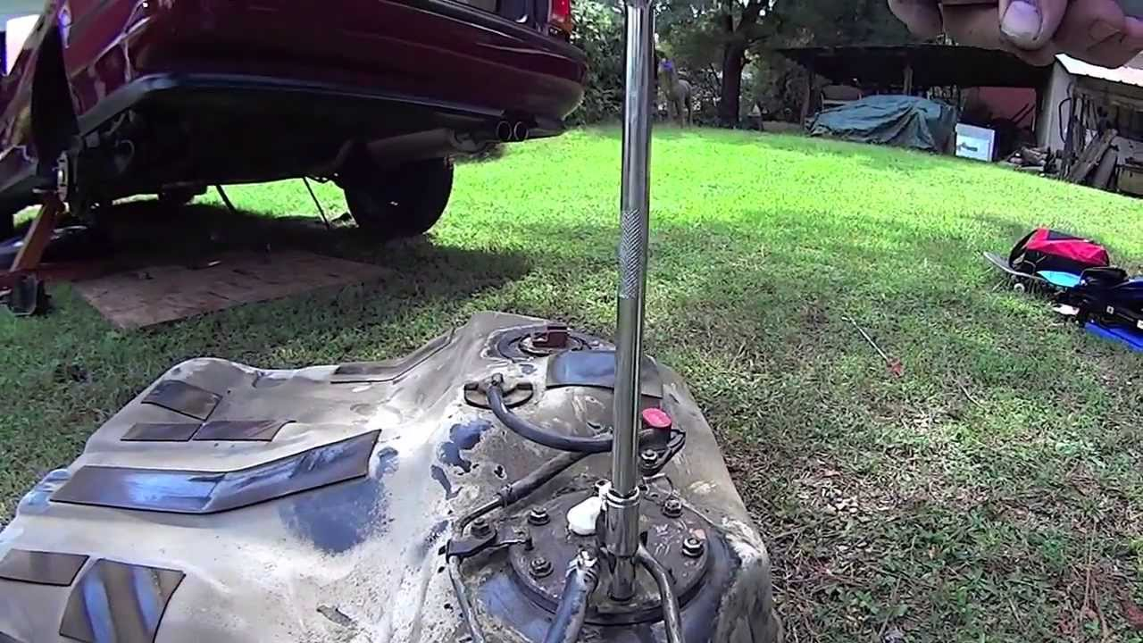 Delightful Honda Accord Fuel Pump And Fuel Tank Removal   YouTube