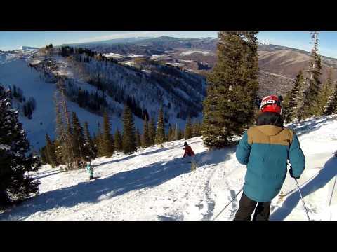 Skiing Aspen Mountain Thanksgiving 2013 With My Teen Run 1