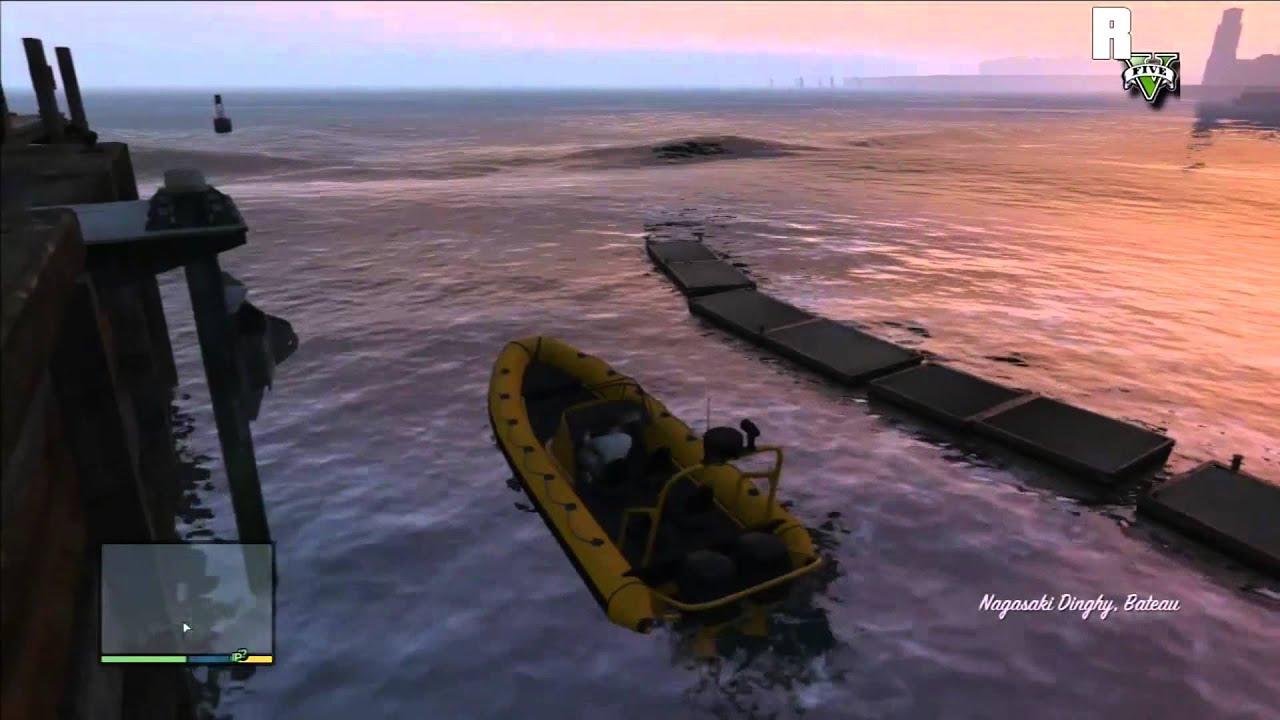 Faire de la plongée gta 5