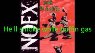 NOFX - Punk Guy w/ Lyrics