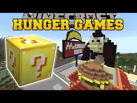 Minecraft: MCBURGER KONG HUNGER GAMES -...