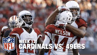Carson Palmer Trips, Stumbles & Goes Deep to J.J. Nelson! | Cardinals vs. 49ers | NFL