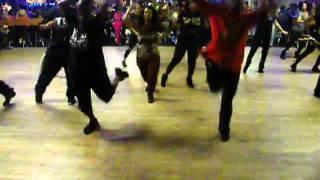 Spontaneous Combustion Line Dance