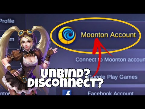 Unbind/Disconnect Moonton Account In Mobile Legends