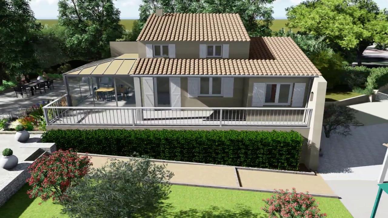 projet 3d am nagement d 39 un jardin avec piscine youtube. Black Bedroom Furniture Sets. Home Design Ideas