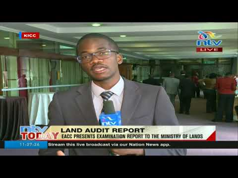 EACC presents ministry of lands audit report