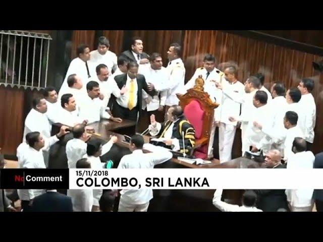 <span class='as_h2'><a href='https://webtv.eklogika.gr/agrio-xylo-sto-koinovoylio-tis-sri-lanka' target='_blank' title='Άγριο ξύλο στο κοινοβούλιο της Σρι Λάνκα'>Άγριο ξύλο στο κοινοβούλιο της Σρι Λάνκα</a></span>