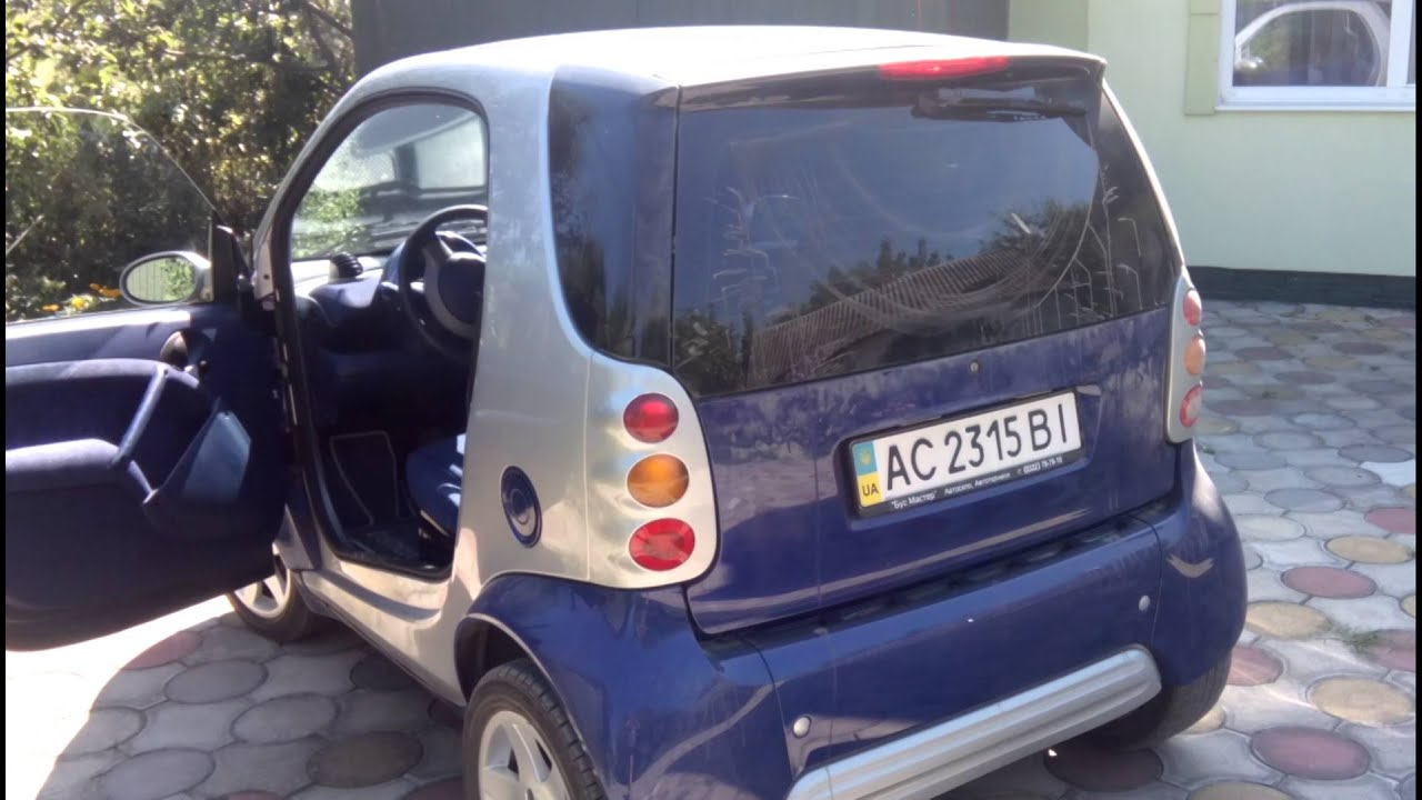 Smart Buy Auto >> SMART ForTwo 2000 - YouTube