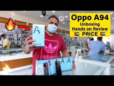 Oppo A94 Unboxing | Cheapest Pricing in Uae, Abu Dhabi, Duba