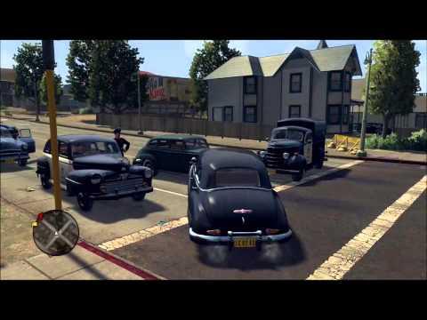 LA Noire Speedthrough w/ D. GingerKing Part 8:  He Shot My Hat Off...