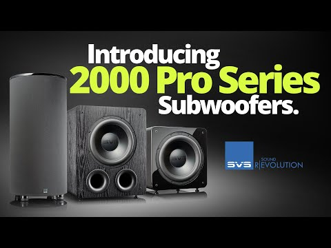 SVS 2000 Pro Series Subwoofer Technology Overview
