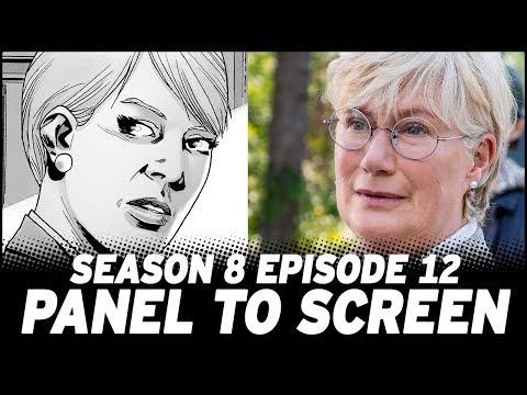 The Walking Dead Season 8, Episode 12   vs. Comic!
