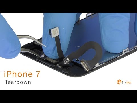iPhone 7 Teardown and Reassemble Guide - Fixez.com