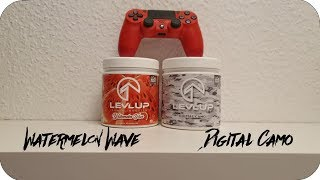 LevlUp - Digital Camo & Watermelon Wave | Unboxing & Tastetest