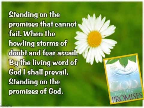 Standing on the promises hymn lyrics