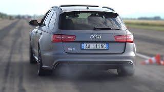 710HP Audi RS6 Avant C7 - BRUTAL REVS & ACCELERATIONS!