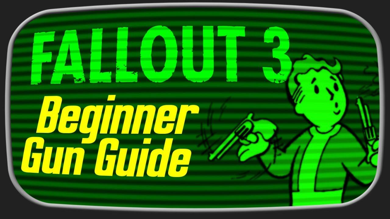 Skyrim Fall Wallpaper Hd Fallout 3 Beginner S Weapon Guide Youtube