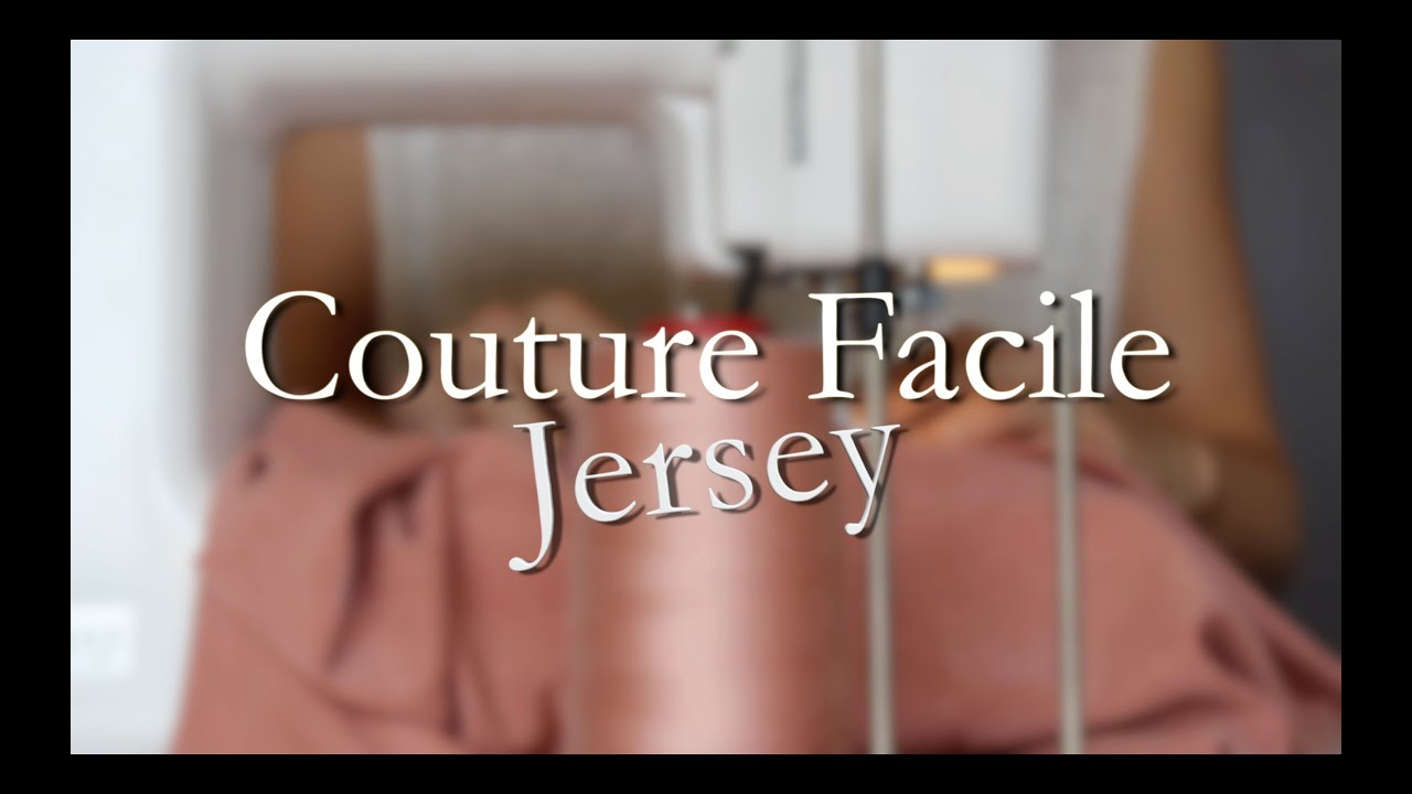 diy couture facile jersey youtube. Black Bedroom Furniture Sets. Home Design Ideas