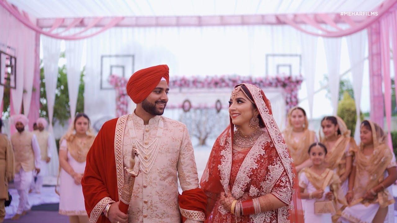 Indian Sikh Wedding Highlights Sanny Love Sanny Kaur