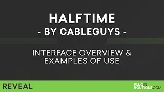 CableGuys HALFTIME | Half Speed Effect Tutorial