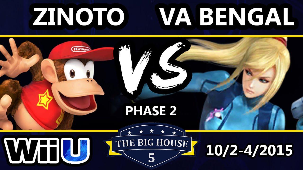 TBH5 - Zinoto (Diddy Kong) Vs. sN | VaBengal (ZSS) SSB4 - Smash Wii U - Smash 4