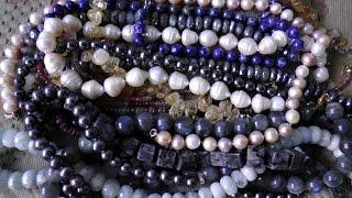 Драгоценные камни и жемчуг❤Моя коллекция