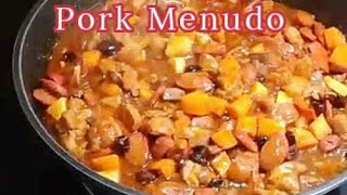 Pork Menudo | How To Cook Pork Menudo (Filipino Style)