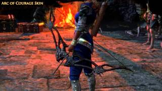 Path of Exile - Arc of Courage Bow Skin