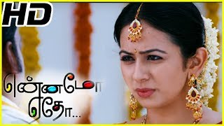 Yennamo Yedho full movie scenes   Gautham Karthik threatens Prabhu   Rakul Preet singh plan to elope