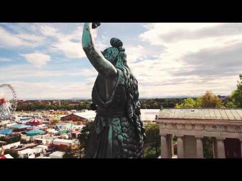 Munich from above | München von oben. Must Watch!! the Bavarian beauty.